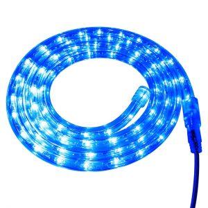 LED Светещ маркуч син